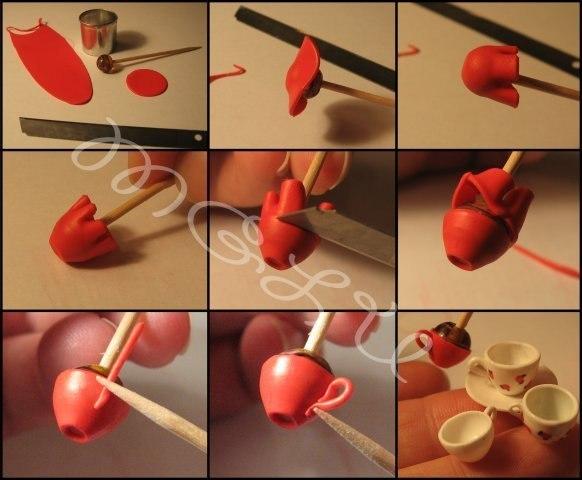 Как сделать полимерная глина своими руками видео