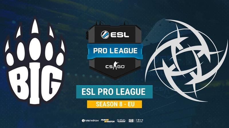 BIG vs NiP ESL Pro League S8 EU bo1 de cache Enkanis