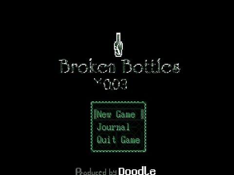 Yume Nikki Fangame playthrough - Broken Bottles ver0.03