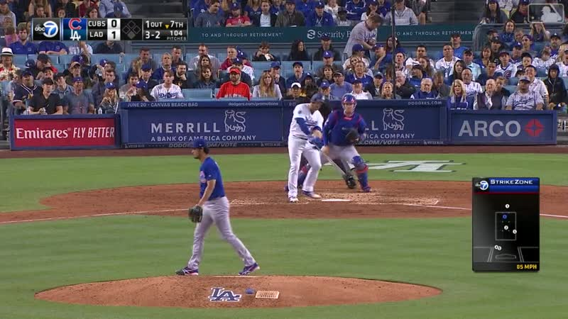 06.15 -Chicago Cubs @ Los Angeles Dodgers - RS - Condensed Game - MLB - 2019