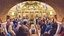 Рождественская литургия в храме святых мучениц Веры, Надежды, Любови и матери их Софии