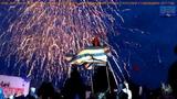НОД- МОСКВА 2017 ВОРОБЬЁВЫ ГОРЫ САЛЮТ В ЧЕСТЬ ПРИСОЕДИНЕНИЯ КРЫМА С РОССИЕЙ 3 ГОДОВЩИНА ...