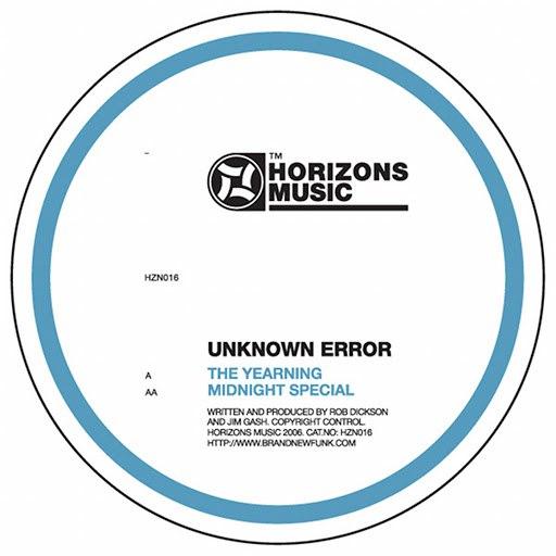 Unknown Error альбом Yearning / Midnight Special
