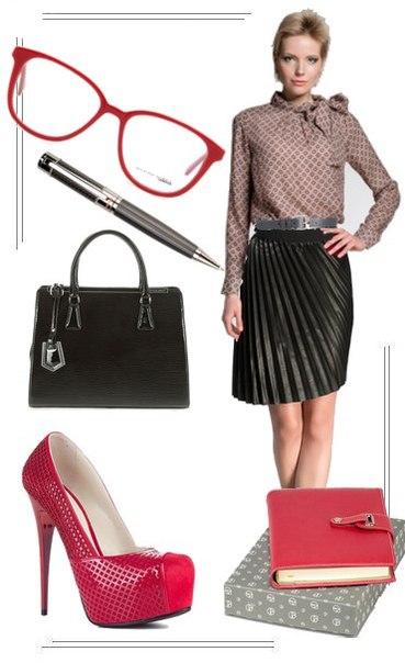 Еще один образ дня от стилиста Юлии Гиленок. Рабочий dress code может быть воплощен вот в таком шикарном и модном комплекте. Рассмотреть детальнее ЗДЕСЬ ➤