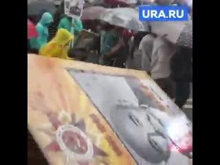 дождь на парад победы