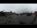 Видео 360- «Терминатор» на Красной площади