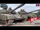 ของใหม่ลาวโชว์ตัวครั้งแรก T-72B1MS รถถังใหม่ล