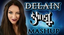 Ghost Delain Mashup Cover by Minniva featuring Quentin Cornet