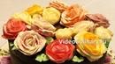 Украшение торта розами из крема коротко о главном Анонс