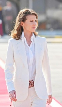 The First Lady Asma al Assad | VK