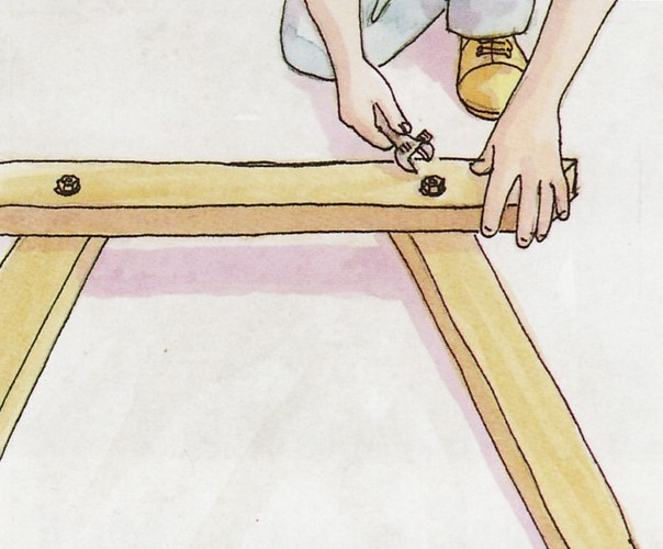 Ножки для стола складного своими руками 33