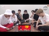 [RUS SUB][BANGTAN BOMB] BTS 'IDOL' MV reaction - BTS