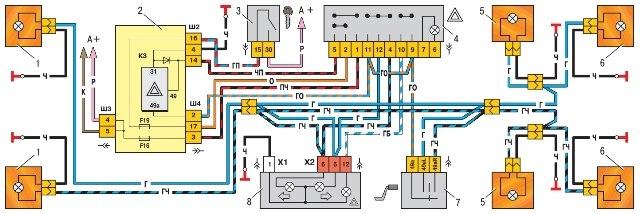 двигателе схема и с диодом
