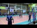 Разминка в волейболе перед игрой на примере команды Урал Уфа - Нападающий удар