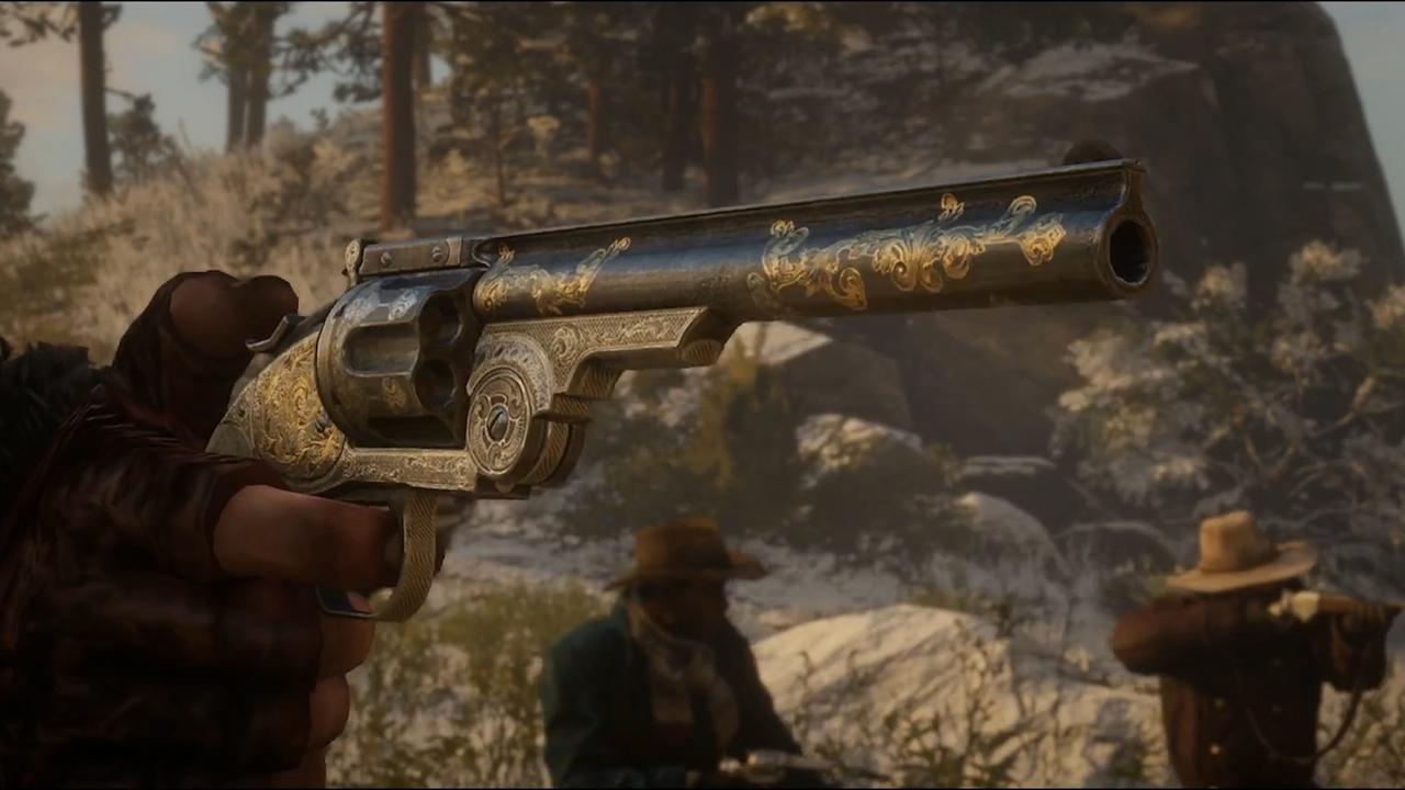 Револьвер в Red Dead Redemption 2