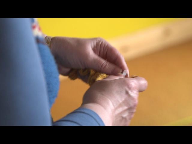 Hazel Tindall - on-line fastest knitter entry