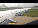 Взлет из аэропорта Москвы-Внуково, рейс RSY9779 VKO-CTA
