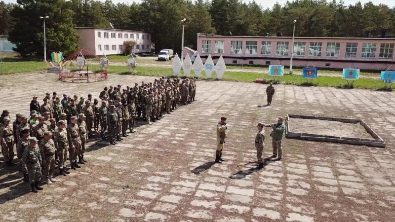 Военно-патриотические сборы ОСОЛ 2018 Чалдай. Chalday OSOL18