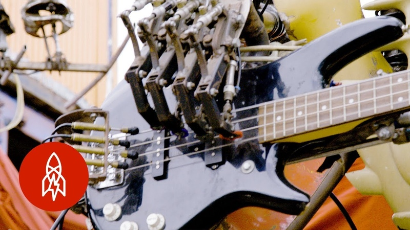 This Punk Band is Made Up Entirely of Robots