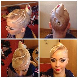 Pleasing Ballrooms Bangs And Buns On Pinterest Short Hairstyles Gunalazisus