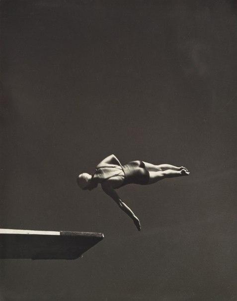 Олимпийская чемпионка Марджори Гестринг. Сан-Франциско, 1936 год.