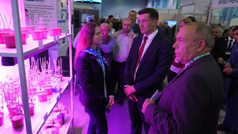 Никитин оценил разработки ННГУ на выставке инноваций Будущее России