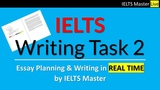IELTS Writing Task 2 - IELTS Master Plans and Writes a Model Discussion Essay in Real Time