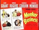 Monkey Business (1952) Cary Grant, Ginger Rogers, Charles Coburn, Marilyn Monroe