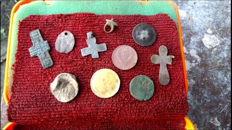 Старинные монеты и артефакты с металлоискателем Макро Рейсер 2