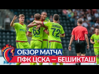 Обзор матча: ПФК ЦСКА - Бешикташ - 4:1