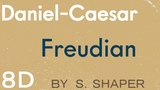 8D R&ampB Daniel Caesar - Freudian (USE HEADPHONE OR EARPHONE)