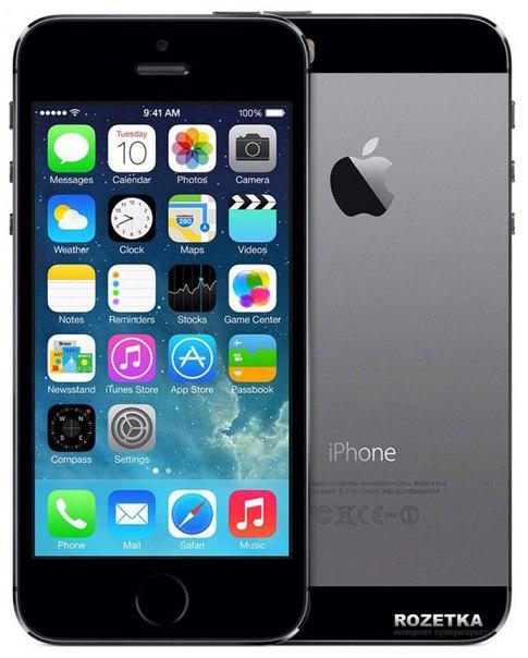 Продам срочно iPhone 5s 32gb space gray