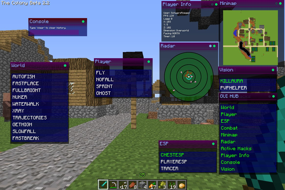 [Release] Minecraft 1.5.2 Hacked Client - Colony w/ src ...