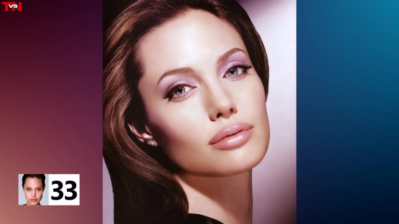 ANGELINA JOLIE ⭐ Life From 1 To 42 Years Old