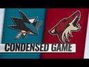 San Jose Sharks vs Arizona Coyotes Dec 08 2018