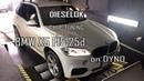 Чип-тюнинг BMW X5 F15 25D. CHIPTUNING 43HP Stage1 DYNO. Замер мощности на диностенде