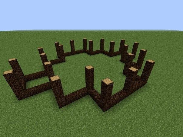 Как Построить Красивый Дом В Майнкрафте Пошаговая Инструкция С Фото - фото 5