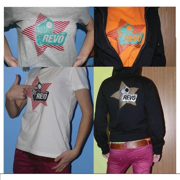 цветная печать на футболках москва