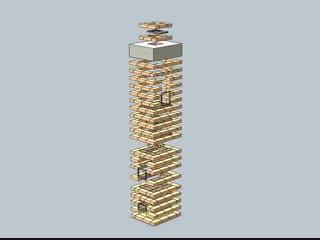 Компьютерная модель печной кладки