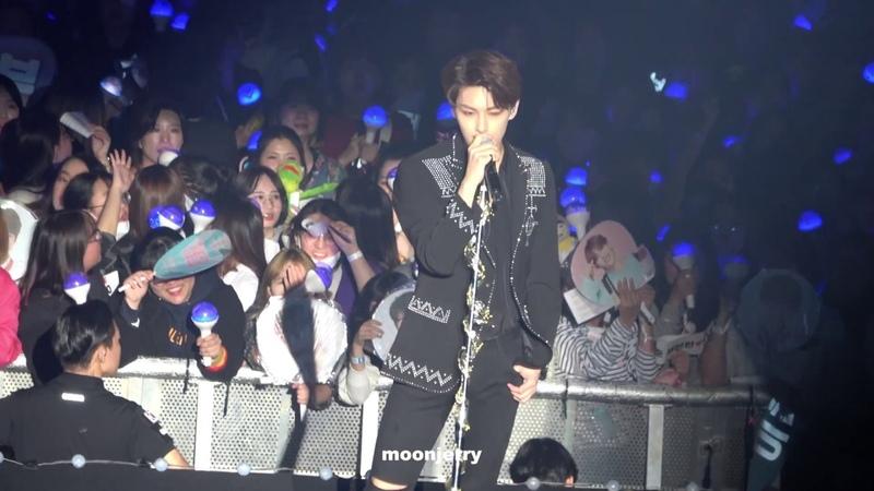 [FANCAM] [181104] Jun (Seventeen) - Echo @ Ideal Cut The Final Scene Concert in Seoul D-2