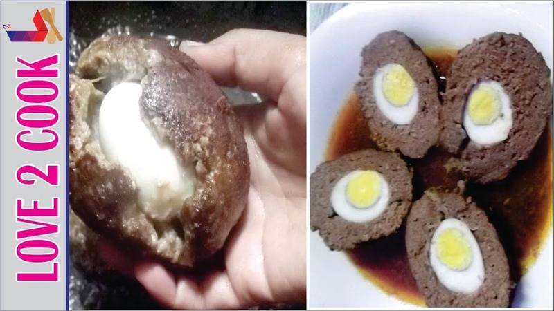 Nargisi Kofta Recipe Went Wrong-How To Make Nargisi Kofta-Meatballs Urdu Hindi 2019