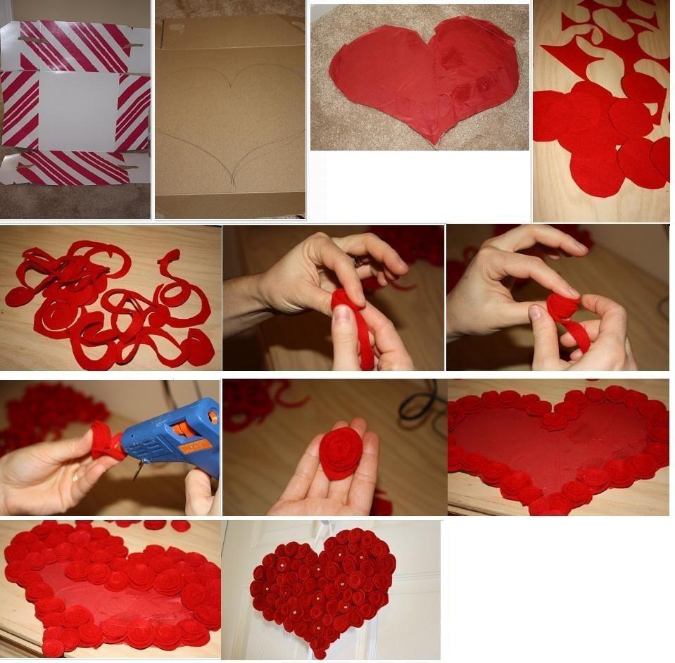 Делаем свадьбу сердце своими руками