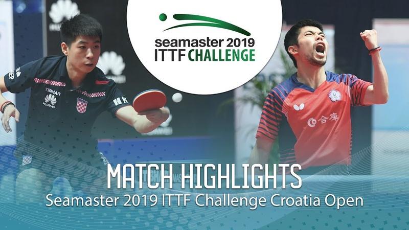 Chuang Chih-Yuan vs Wei Shihao | 2019 ITTF Challenge Croatia Open (R16)
