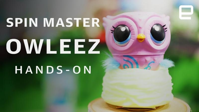 Spin Master Owleez Hands On