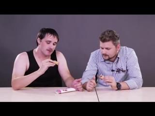 [Брандт Live] Новые десерты фаст фуда / Деревенский парень впервые пробует