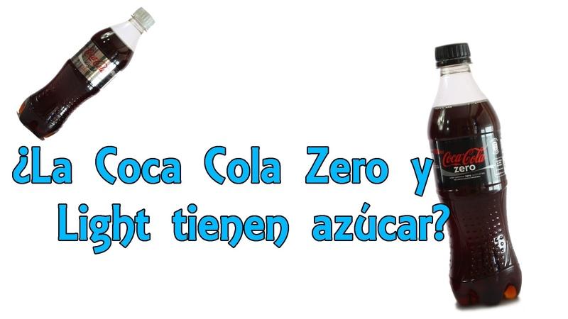 ¿La Coca Cola Zero y Light tienen azúcar - Desvelando mitos (Experimentos Caseros)