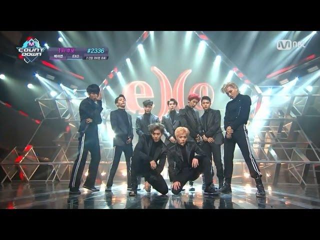 EXO「Monster」(2016年6月16日放送「M COUNTDOWN」)