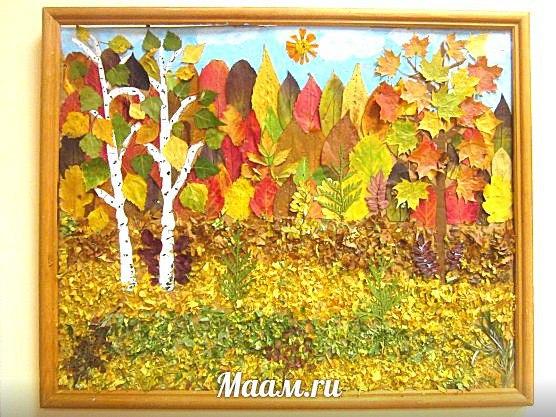 Поделки своими руками осень в детский сад картинки для