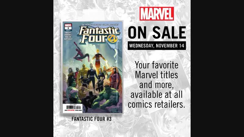 Marvel: Fresh Start! Titles for November 14st