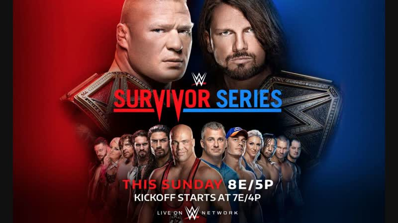 WWE Survivor series 2018 от Кенникса